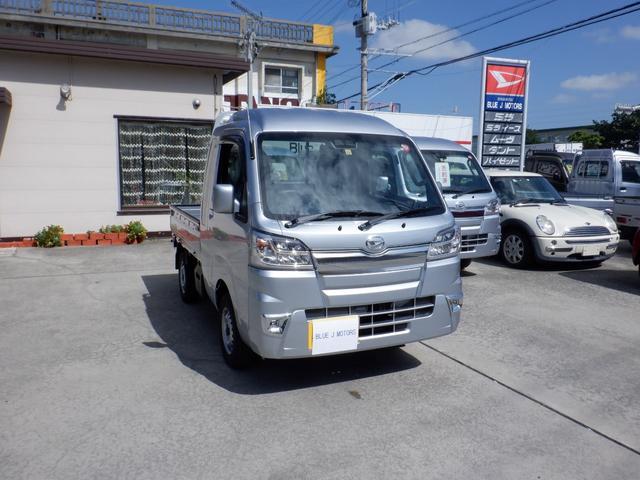 宜野湾市 BLUE J MOTORS ダイハツ ハイゼットトラック  シルバー 6km 2019(令和1)年