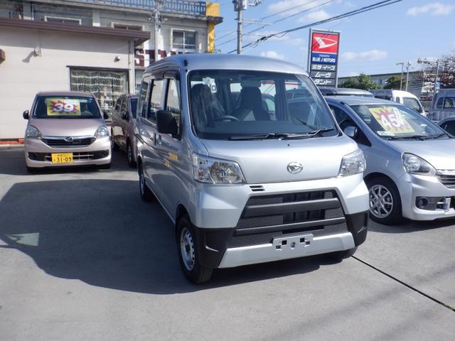 沖縄の中古車 ダイハツ ハイゼットカーゴ 車両価格 89万円 リ済込 2020(令和2)年 4km シルバー