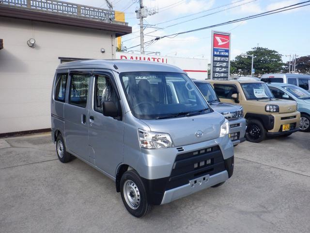 沖縄の中古車 ダイハツ ハイゼットカーゴ 車両価格 89万円 リ済込 2020(令和2)年 5km シルバー