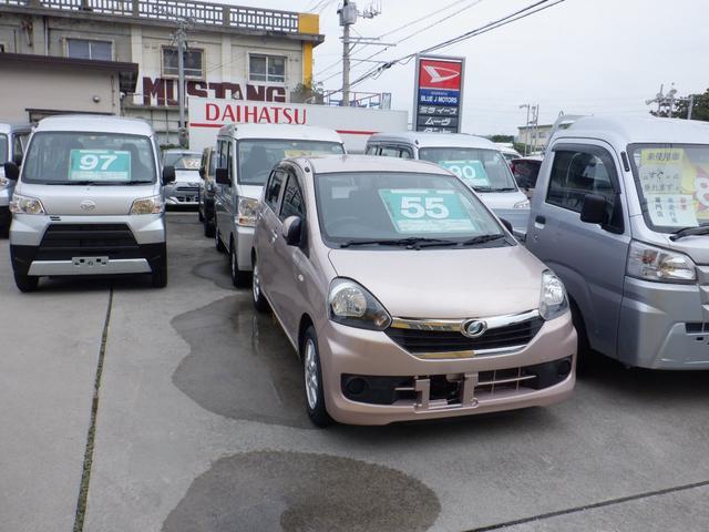沖縄県の中古車ならミライース X ナビ ETC付き