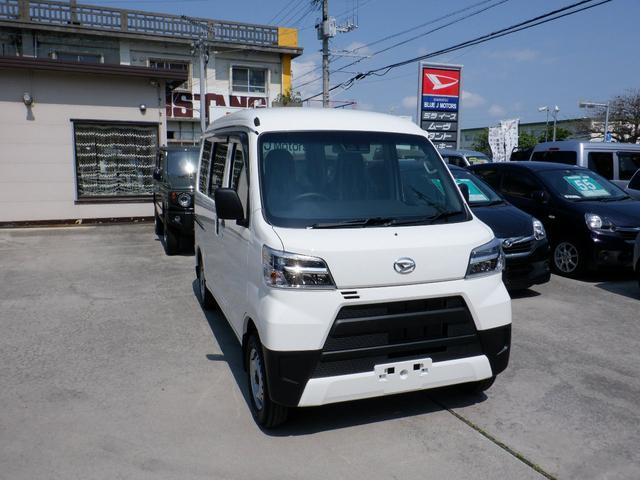 沖縄県宜野湾市の中古車ならハイゼットカーゴ DX LEDライト スマートアシスト付き