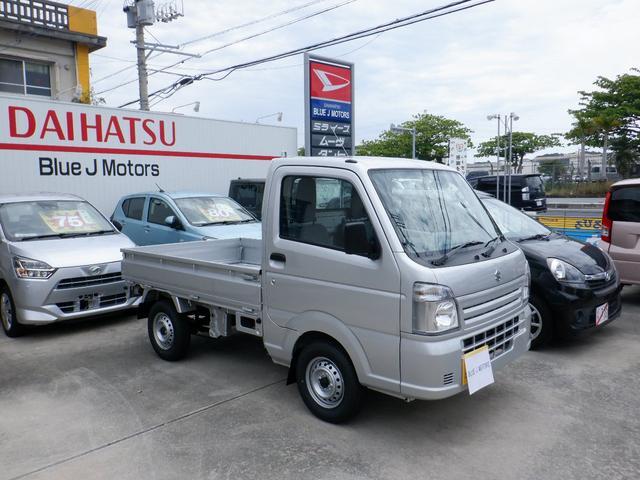 沖縄の中古車 スズキ キャリイトラック 車両価格 81万円 リ済込 2021(令和3)年 10km シルバー
