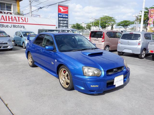 沖縄県の中古車ならインプレッサ WRX WR-リミテッド 2004