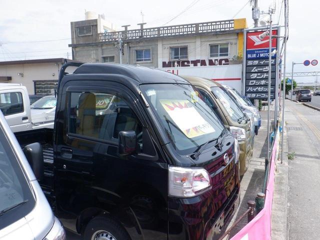 沖縄の中古車 ダイハツ ハイゼットトラック 車両価格 86万円 リ済込 2021(令和3)年 5km ブラック
