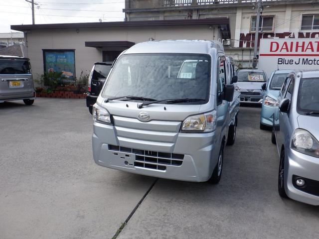沖縄県の中古車ならハイゼットトラック ハイルーフエアコンパワステ5速4WD