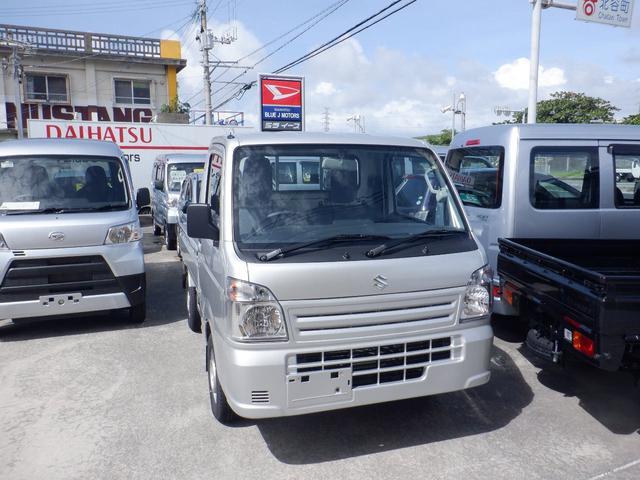 沖縄の中古車 スズキ キャリイトラック 車両価格 82万円 リ済込 2021(令和3)年 5km シルバー
