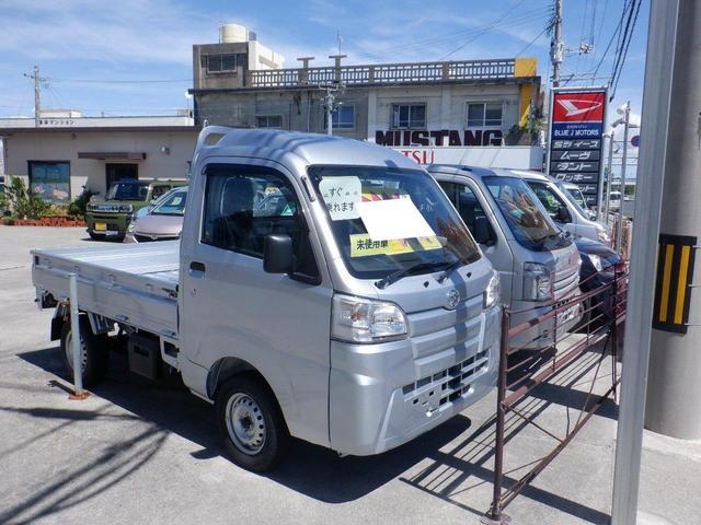 沖縄の中古車 ダイハツ ハイゼットトラック 車両価格 82万円 リ済込 2021(令和3)年 6km シルバー