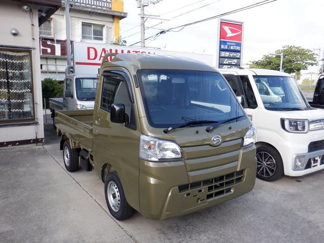 沖縄の中古車 ダイハツ ハイゼットトラック 車両価格 86万円 リ済込 2021(令和3)年 5km 特色