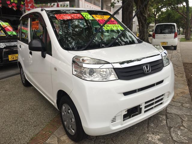 沖縄の中古車 ホンダ ライフ 車両価格 37万円 リ済込 2013(平成25)年 11.4万km ホワイトM