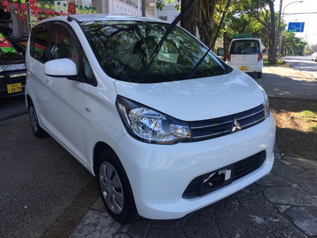 沖縄県の中古車ならeKワゴン Mタッチパネルオートエアコン ナビ地デジTV 本土無事故車