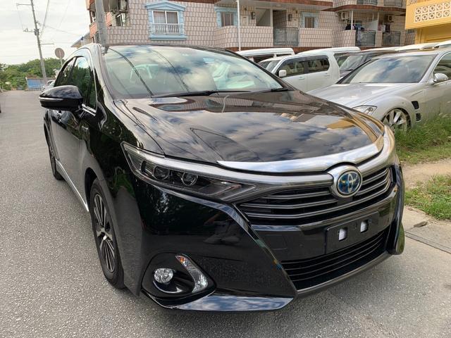 沖縄県の中古車ならSAI G Aパッケージ プリクラッシュセーフティー 本土無事故車