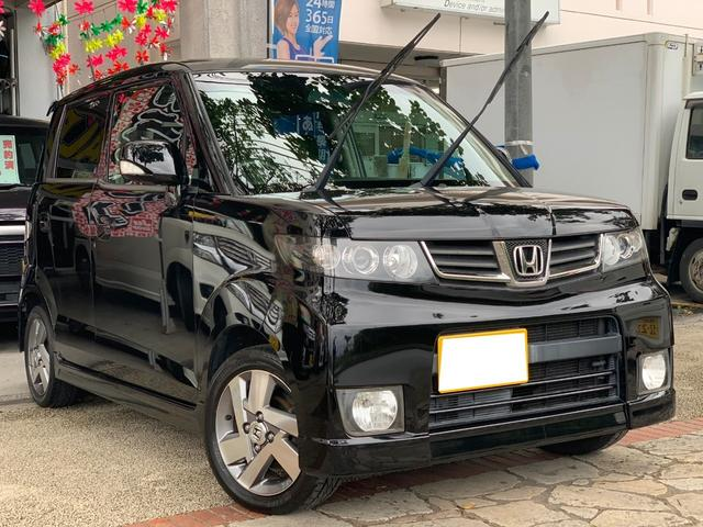 沖縄県の中古車ならゼストスパーク W スマートキー 新品DVDブルートゥース機能 本土無事故車