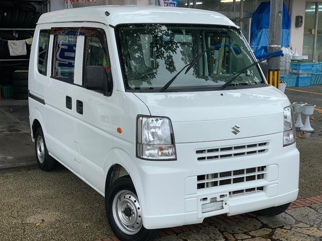 沖縄の中古車 スズキ エブリイ 車両価格 39万円 リ済込 2012(平成24)年 12.3万km ホワイト