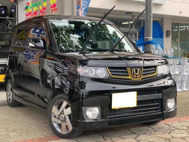 沖縄県の中古車ならゼストスパーク ダイナミックスペシャルサンルーフナビフルセグTV本土無事故車
