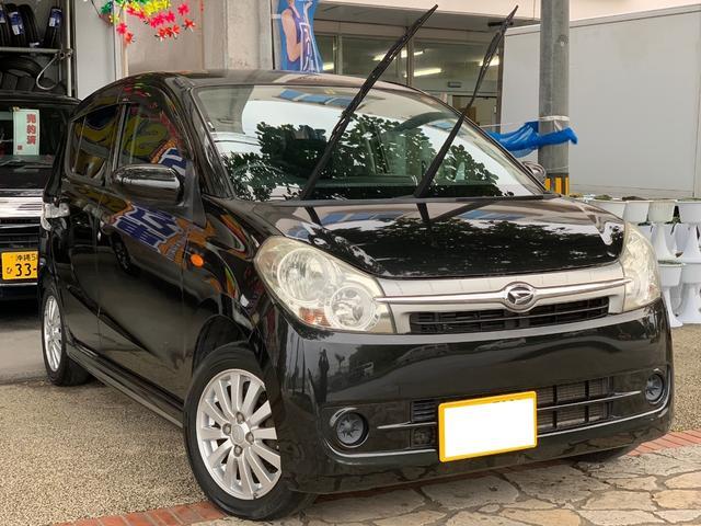 沖縄県の中古車ならミラカスタム X DVDオーディオ AUX スマートキー 本土無事故車