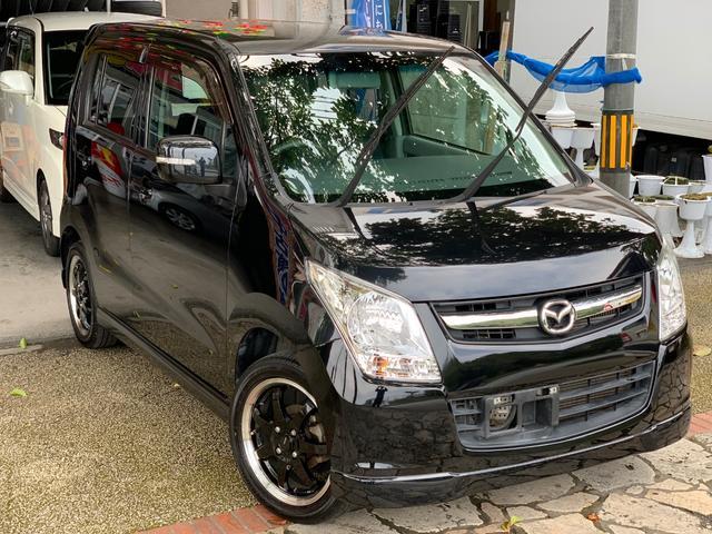 沖縄県の中古車ならAZワゴン XSスペシャル プッシュスタート 社外アルミ 本土無事故車