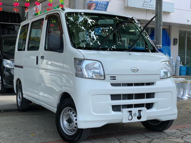 沖縄県の中古車ならハイゼットカーゴ スペシャルクリーン パートタイム4WD 4速AT本土無事故車