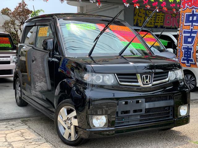 沖縄県の中古車ならゼストスパーク W HDDナビ 地デジTV バックカメラ 本土無事故車