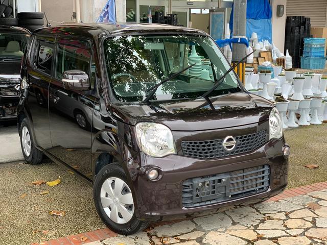 沖縄の中古車 日産 モコ 車両価格 39万円 リ済込 2012(平成24)年 12.6万km ブラウン
