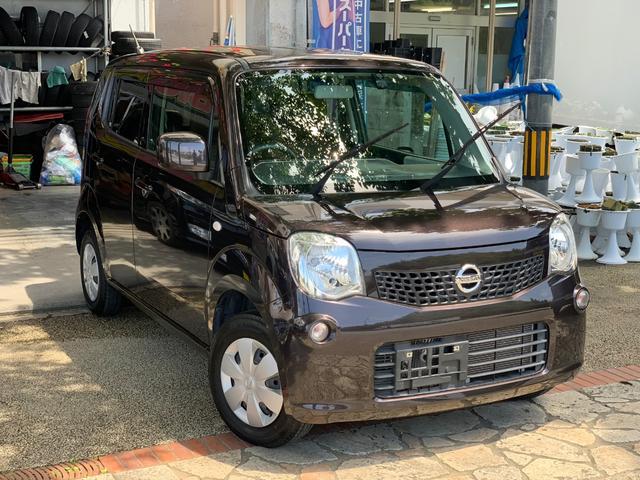 沖縄の中古車 日産 モコ 車両価格 32万円 リ済込 2013(平成25)年 12.7万km ブラウン