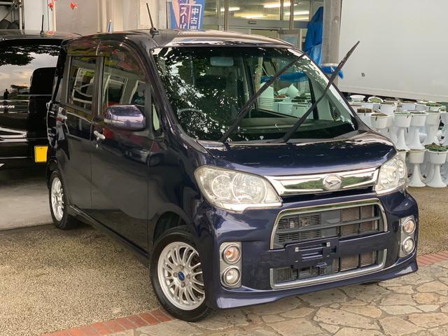 沖縄県の中古車ならタントエグゼ カスタムRSターボ ナビ フルセグTV USB 本土無事故車