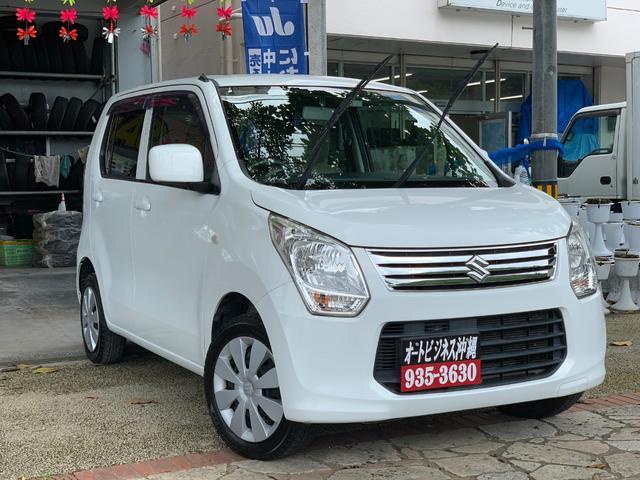 沖縄の中古車 スズキ ワゴンR 車両価格 35万円 リ済込 2014(平成26)年 12.5万km ホワイト