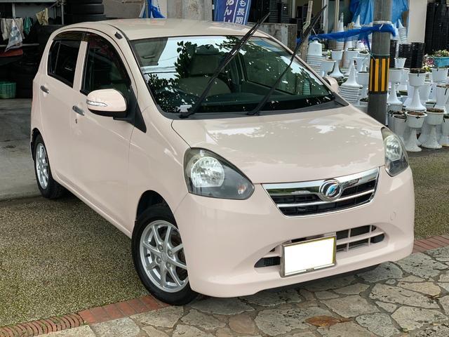 沖縄の中古車 ダイハツ ミライース 車両価格 42万円 リ済込 2011(平成23)年 8.3万km シェルローズ