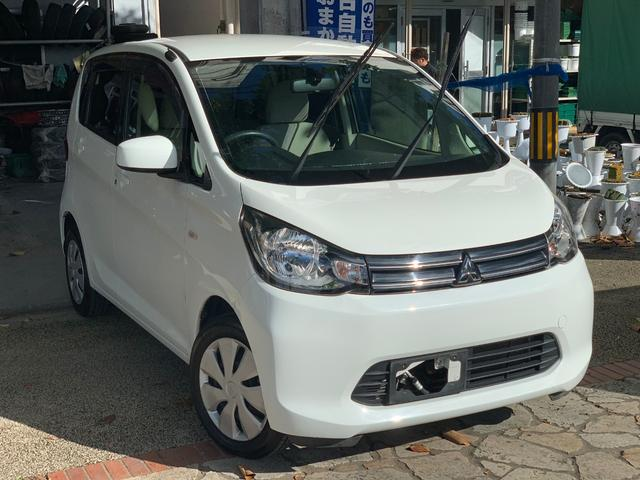 沖縄県の中古車ならeKワゴン Mアイドリングストップ タッチパネルエアコン 本土無事故車