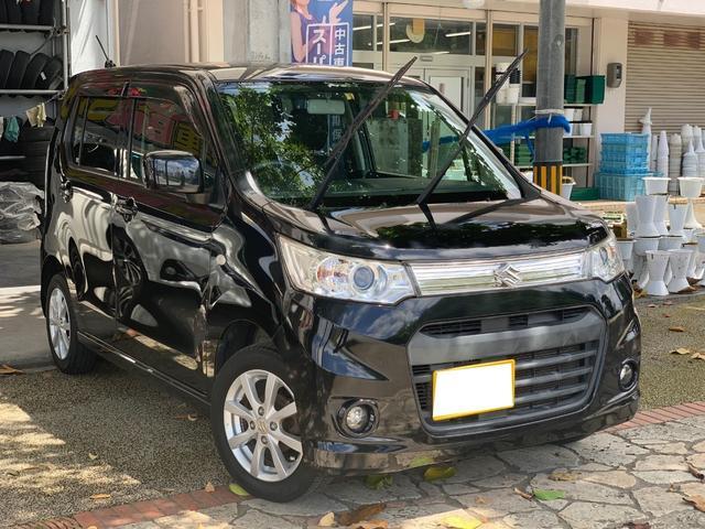 沖縄県の中古車ならワゴンRスティングレー X アイドリングストップ プッシュスタート 本土無事故禁煙車