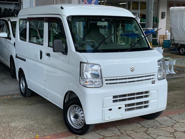 沖縄県の中古車ならエブリイ PAハイルーフ AT ナビ 衝突防止システム 本土無事故車