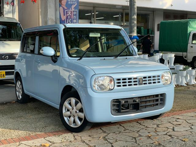 沖縄の中古車 スズキ アルトラパン 車両価格 39万円 リ済込 2012(平成24)年 10.7万km ライトブルー