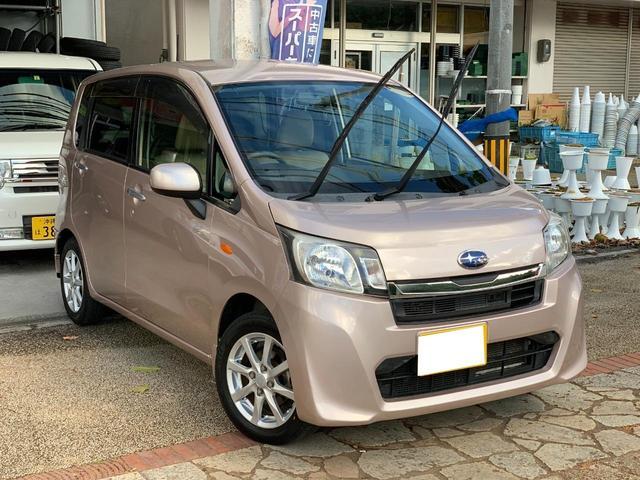 沖縄の中古車 スバル ステラ 車両価格 39万円 リ済込 2013(平成25)年 11.4万km ピンク