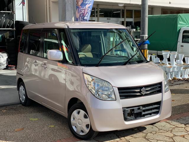 沖縄県の中古車ならパレット L スマートキー プッシュスタート 両側スライド 本土無事故