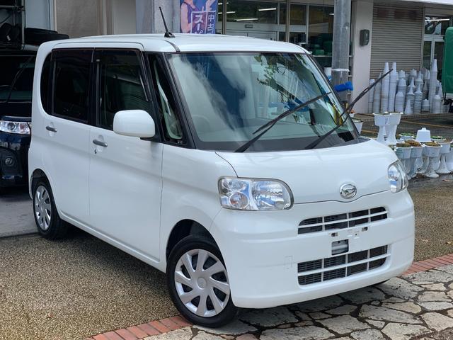 沖縄の中古車 ダイハツ タント 車両価格 39万円 リ済込 2012(平成24)年 11.1万km ホワイト