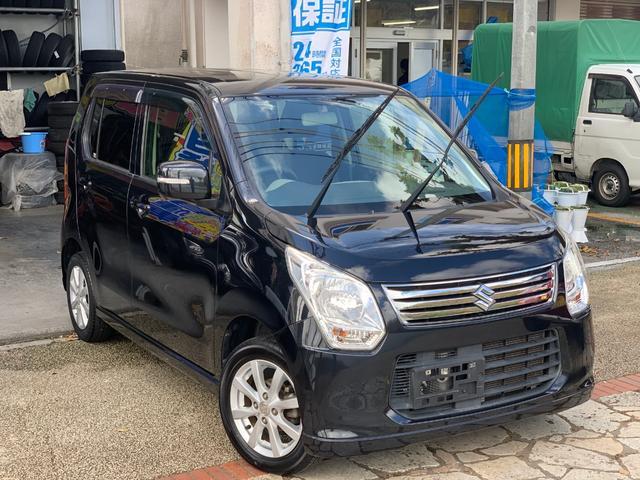 沖縄県の中古車ならワゴンR FXリミテッド ナビフルセグTVブルートゥース 本土無事故車