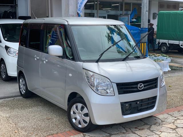 沖縄県の中古車ならフレアワゴン ISリミテッド 電動スライドドア バックカメラ 本土無事故車