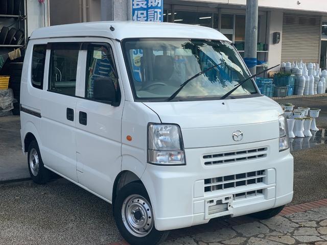 沖縄県の中古車ならスクラム PAハイルーフ ダッシュAT 集中ドアロック 本土無事故車