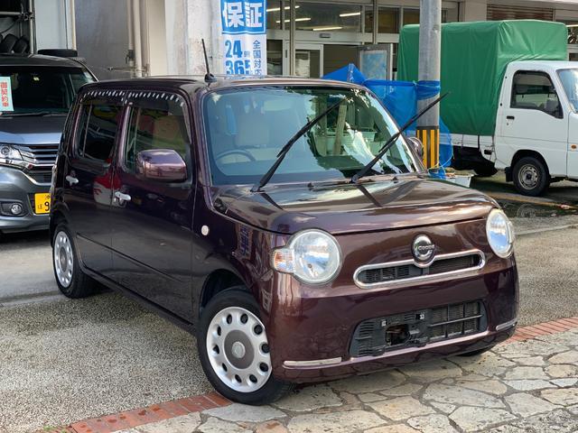 沖縄県の中古車ならミラココア ココアX アイドリングストップ スマートキー 本土無事故車
