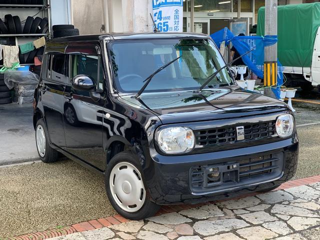 沖縄の中古車 スズキ アルトラパン 車両価格 39万円 リ済込 2012(平成24)年 11.3万km ブラック