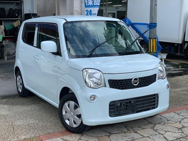 沖縄の中古車 日産 モコ 車両価格 39万円 リ済込 2012(平成24)年 9.3万km ホワイトミント