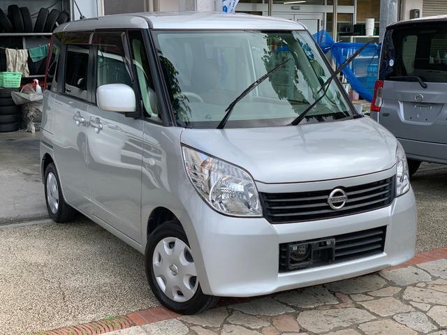 沖縄県の中古車ならルークス E プッシュスタート  ナビ 地デジTV 本土無事故車