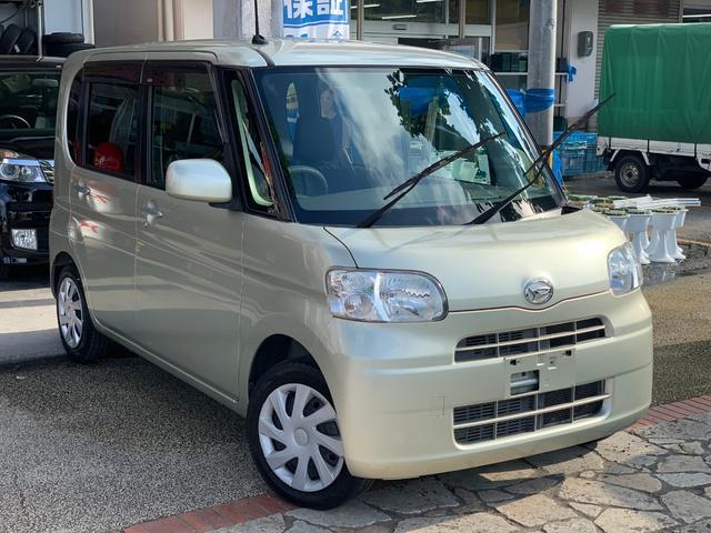 沖縄県の中古車ならタント L アイドリングストップ CDオーディオAUX 本土無事故車