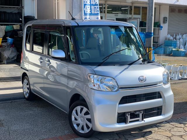 沖縄県の中古車ならタント Lアイドリングストップ CD USB AUX 本土無事故車