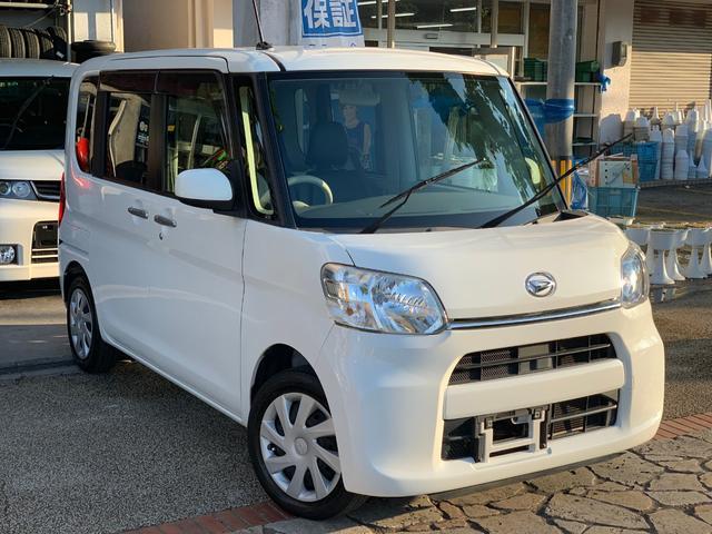 沖縄県の中古車ならタント Lアイドリングストップ CDオーディオ AUX 本土無事故車