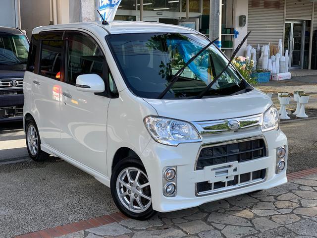 沖縄県の中古車ならタントエグゼ カスタムG スマートキー ナビTVバックカメラ 本土無事故車