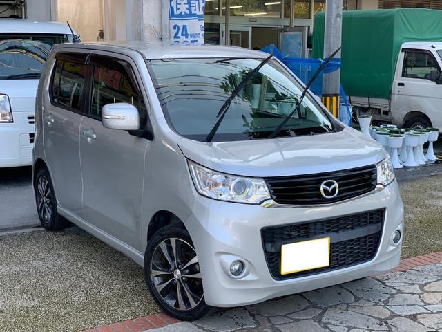 沖縄県の中古車ならフレアカスタムスタイル XTターボ・ナビ・地デジTV・USB・ドラレコ・本土無事故車