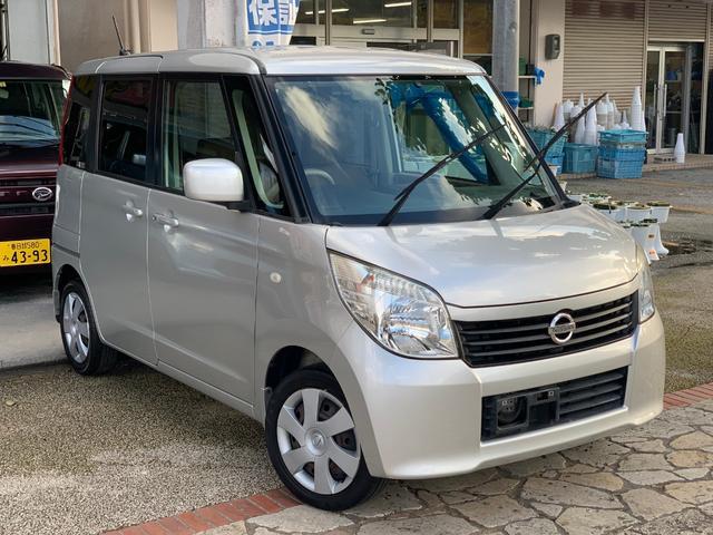 沖縄の中古車 日産 ルークス 車両価格 39万円 リ済込 2011(平成23)年 9.7万km シルバー