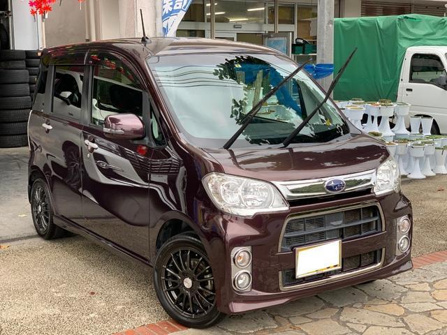 沖縄県の中古車ならルクラカスタム Rリミテッド ナビ TV バックカメラ USB 本土無事故車
