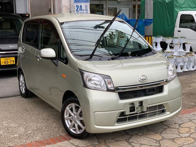 沖縄県の中古車ならムーヴ X SA ナビTVブルートゥース バックカメラ 本土無事故車