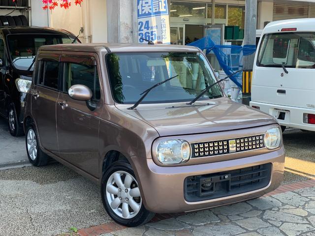 沖縄県の中古車ならアルトラパン 10thアニバーサリー ナビTVバックカメラ 本土無事故車